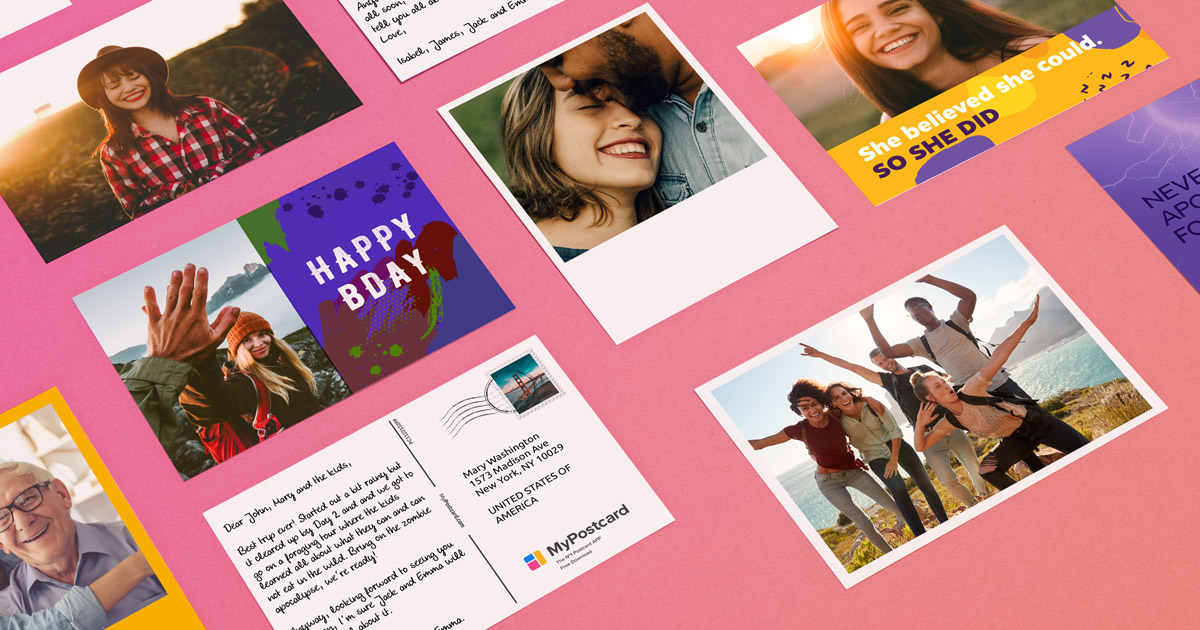 MyPostcard | Send Your Cards, Photo Postcards & Greeting Cards