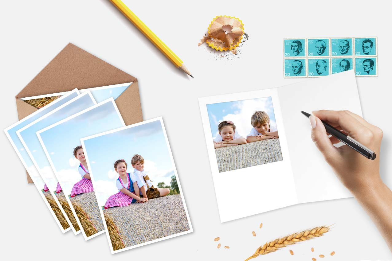 Mypostcard send your cards photo postcards greeting cards set of personalized greeting cards m4hsunfo