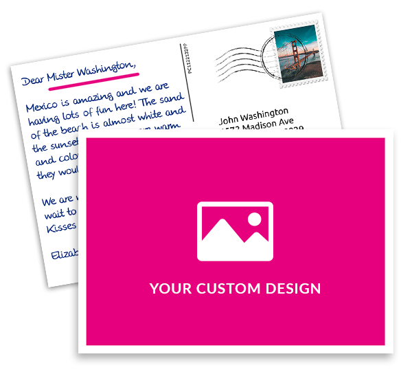 Mypostcard customer mailing postcards greeting cards with your custom design and logo m4hsunfo Choice Image