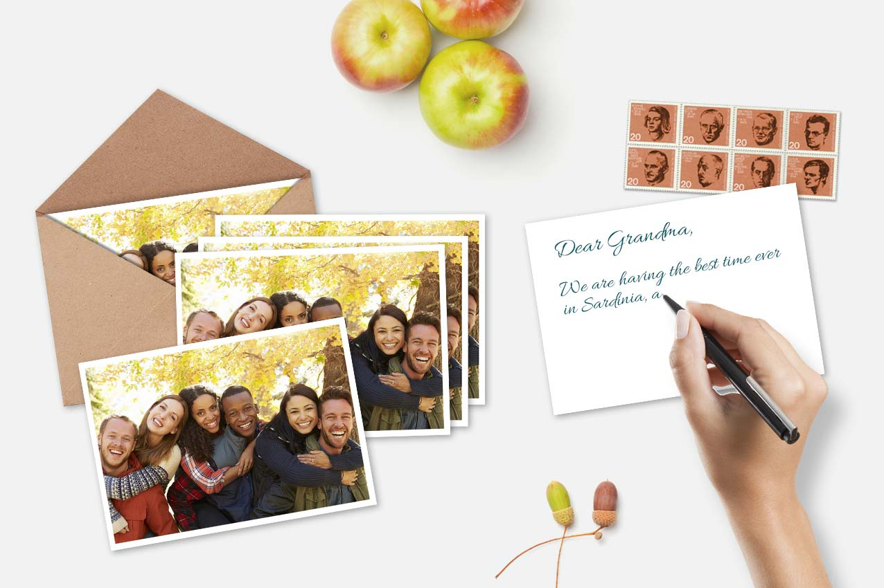 Personalized Postcard Set