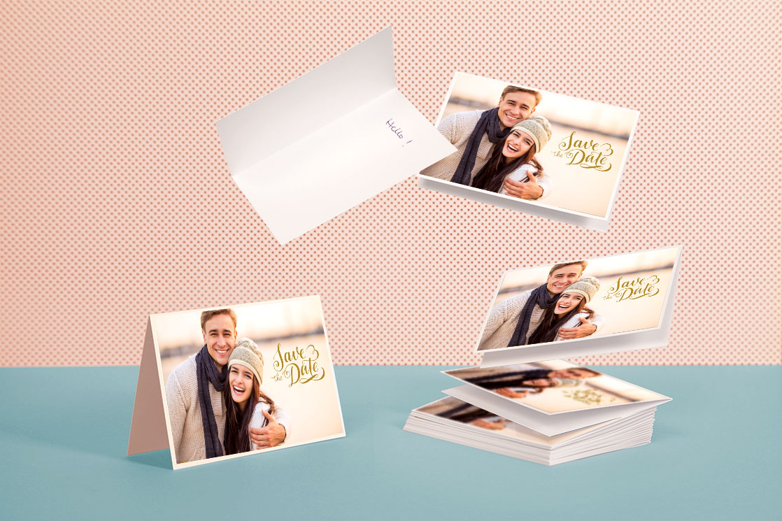 Set of Personalized Greeting Cards