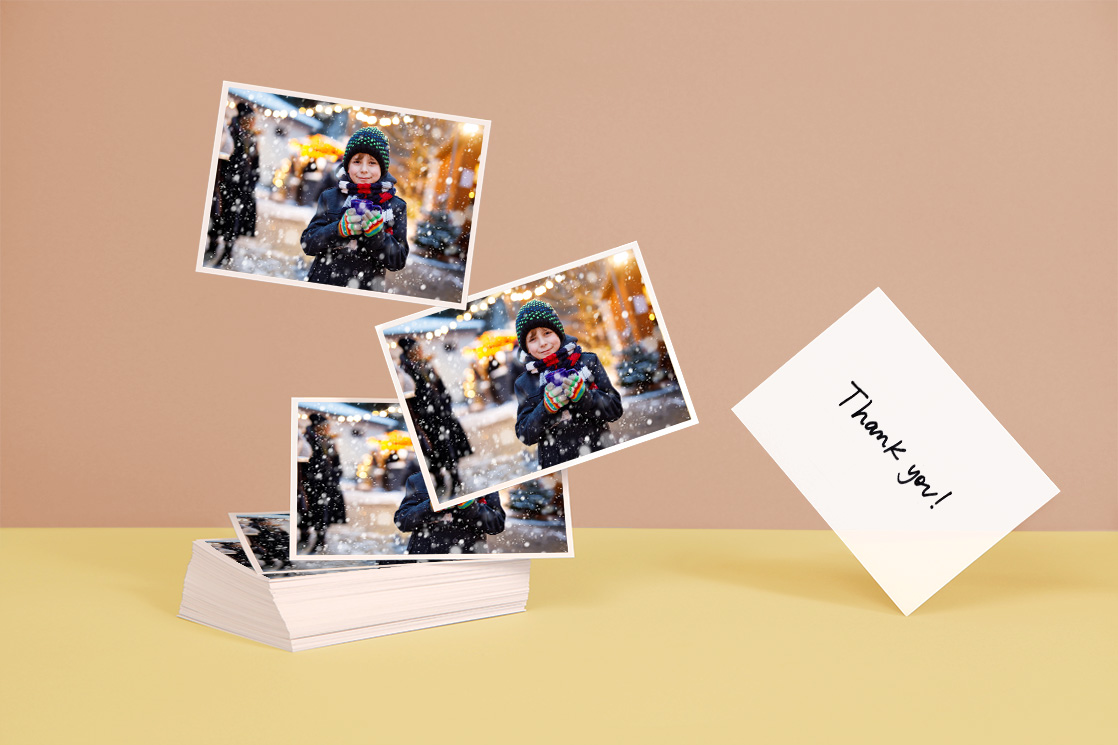 Set of Personalized Postcards